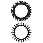 Glitz Designs - Rub Ons - Round Frames