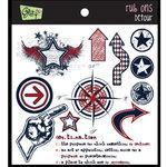 Glitz Design - Detour Collection - Rub Ons - Detour, BRAND NEW