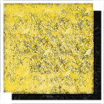 Glitz Design - Scarlett Collection - 12 x 12 Double Sided Paper - Floral, CLEARANCE