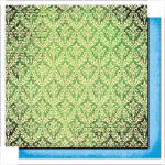 Glitz Design - Scarlett Collection - 12 x 12 Double Sided Paper - Wallpaper, CLEARANCE