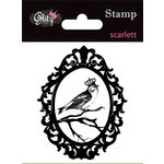 Glitz Design - Scarlett Collection - Clear Acrylic Stamps - Scarlett, CLEARANCE