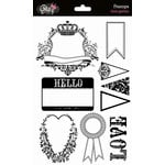 Glitz Design - Love Games Collection - Clear Acrylic Stamps - Love Games