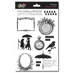 Glitz Design - Dance in Sunshine Collection - Clear Acrylic Stamps