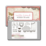 Glitz Design - Hello Friend Collection - Rubber Stamps