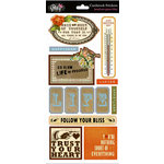 Glitz Design - Laced with Grace Collection - Cardstock Stickers - Titles