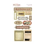 Glitz Design - Joyeux Noel Collection - Christmas - Cardstock Stickers - Titles