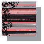 Glitz Designs - Urban Collection - 12x12 Double Sided Paper - Urban Stripe