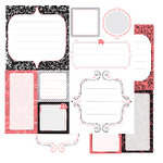 Glitz Designs - Urban Collection - 12x12 Double Sided Paper - Urban Journaling, CLEARANCE