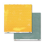 Glitz Design - Unchartered Waters Collection - 12 x 12 Double Sided Paper - Anchors