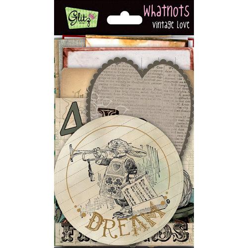 Glitz Design - Vintage Love Collection - Whatnots - Vintage Cards, BRAND NEW