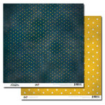 Glitz Design - Vintage Blue Collection - 12 x 12 Double Sided Paper - Polka