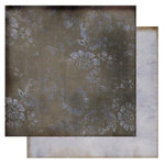 Glitz Design - Vintage Love Collection - 12 x 12 Double Sided Paper - Velvet, CLEARANCE