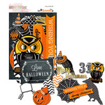 Glitz Design - Raven Collection - Halloween - Cardstock Pieces - Whatnots