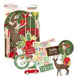 Glitz Design - Hello December Collection - Christmas - Cardstock Pieces - Whatnots