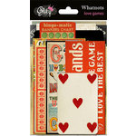 Glitz Design - Love Games Collection - Cardstock Pieces - Whatnots, CLEARANCE