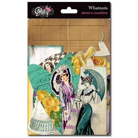 Glitz Design - Dance in Sunshine Collection - Cardstock Pieces - Whatnots