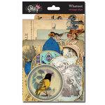 Glitz Design - Vintage Blue Collection - Cardstock Pieces - Whatnots