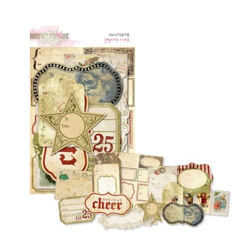 Glitz Design - Joyeux Noel Collection - Christmas - Cardstock Pieces - Whatnots