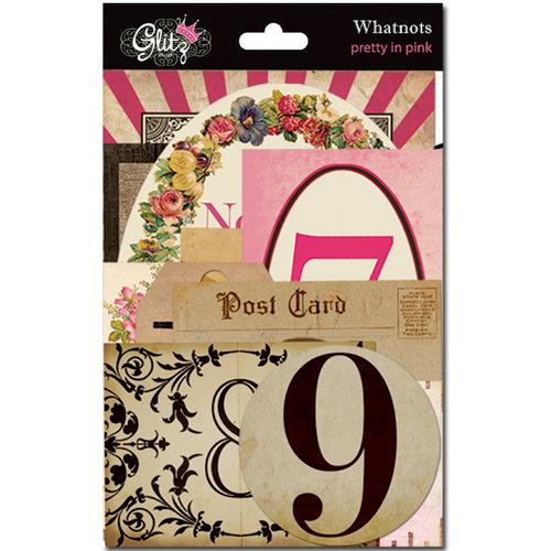 Glitz Design - Pretty in Pink Collection - Cardstock Pieces - Whatnots