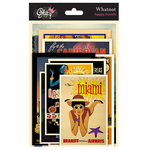 Glitz Design - Happy Travels Collection - Cardstock Pieces - Whatnots
