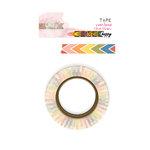 Glitz Design - Color Me Happy Collection - Washi Tape - Rainbow Chevron