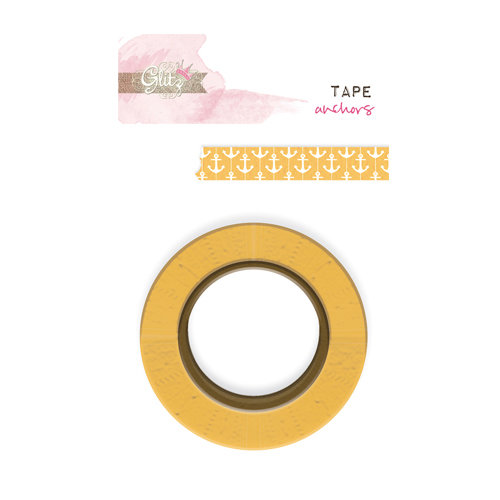 Glitz Design - Uncharted Waters Collection - Washi Tape - Anchors