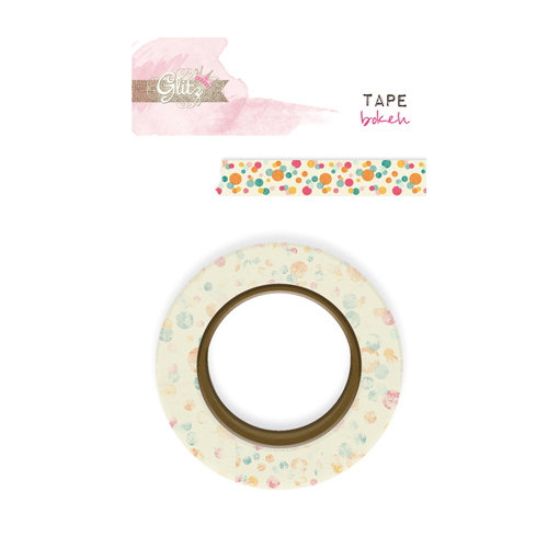 Glitz Design - Uncharted Waters Collection - Washi Tape - Bokeh