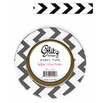 Glitz Design - Raven Collection - Halloween - Washi Tape - B and W Chevron