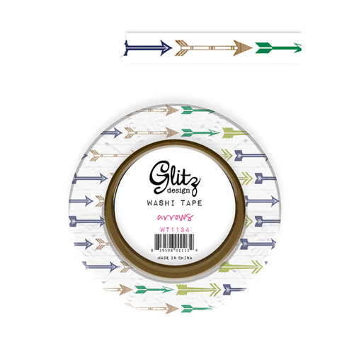 Glitz Design - Dapper Dan Collection - Washi Tape - Arrows