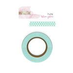 Glitz Design - Cashmere Dame Collection - Washi Tape - Blue Polka