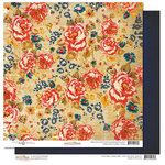Glitz Design - Yours Truly Collection - 12 x 12 Double Sided Paper - Floral