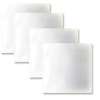 Grafix - Clear Craft Plastic - 8x8 Inches - 4 Sheets
