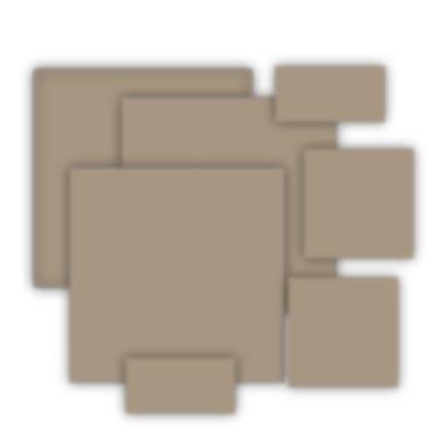 Grafix - Medium Weight Chipboard - Natural - Assorted Sizes