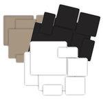 Grafix - Medium Weight Chipboard - Scrap Bag - 6 ounces