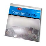 Grafix - Ink Jet Film - Adhesive Backed - Clear - 12x12
