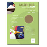 Grafix - Double Tack Mounting Film - Double Sided Adhesive Film - 8.5x11