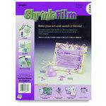 Grafix - Ink Jet Shrink Film - Clear - 8.5x11