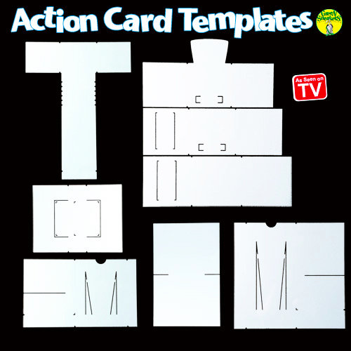 Green Sneakers - Action Card - Template - Mega Kit