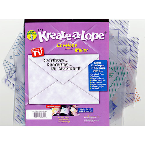 Green Sneakers - Kreate-a-Lope - Envelope Maker - US Collection