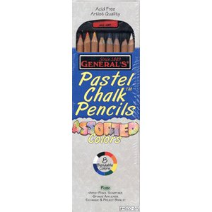 General's Chalk Pencils - Assorted Colors