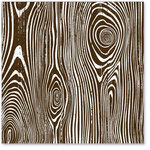 Hambly Studios - Screen Prints - 12x12 Overlay - Wood Grain - Brown