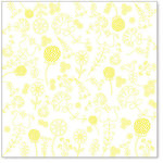 Hambly Studios - Screen Prints - 12 x 12 Overlay Transparency - Embroidery - Yellow, CLEARANCE