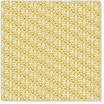 Hambly Studios - Screen Prints - 12 x 12 Overlay Transparency - High Tea - Mustard Yellow