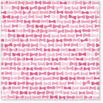 Hambly Studios - Screen Prints - 12 x 12 Overlay Transparency - Bow Ties - Pink