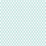 Hambly Studios - Screen Prints - 12 x 12 Overlay Transparency - Lattice - Antique Teal Blue