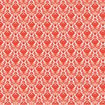 Hambly Studios - Screen Prints - 12 x 12 Overlay Transparency - Mini Brocade - Red