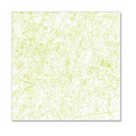 Hambly Studios - Screen Prints - 12 x 12 Overlay Transparency - Streets of Paris - Antique Lime Green
