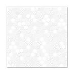 Hambly Studios - Screen Prints - 12 x 12 Overlay Transparency - Honeycomb - White