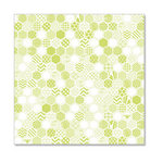 Hambly Studios - Screen Prints - 12 x 12 Overlay Transparency - Honeycomb - Antique Lime