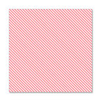 Hambly Studios - Screen Prints - 12 x 12 Overlay Transparency - Diagonal Alley - Coral